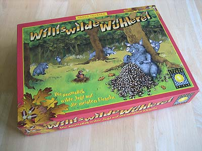 Willis wilde Wühlerei - Spielbox