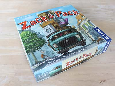 Zack & Pack - Spielbox